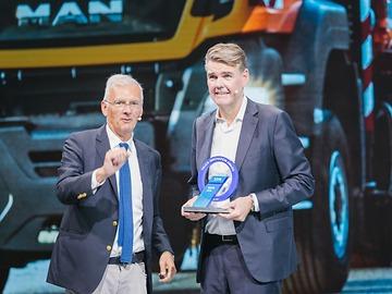 O MAN aFAS recebeu o primeiro Truck Innovation Award na feira de veículos comerciais IAA 2018