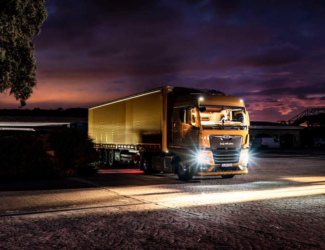 Eficiência com o selo TÜV: A Nova Geração de Camiões MAN poupa até 8,2 % de combustível