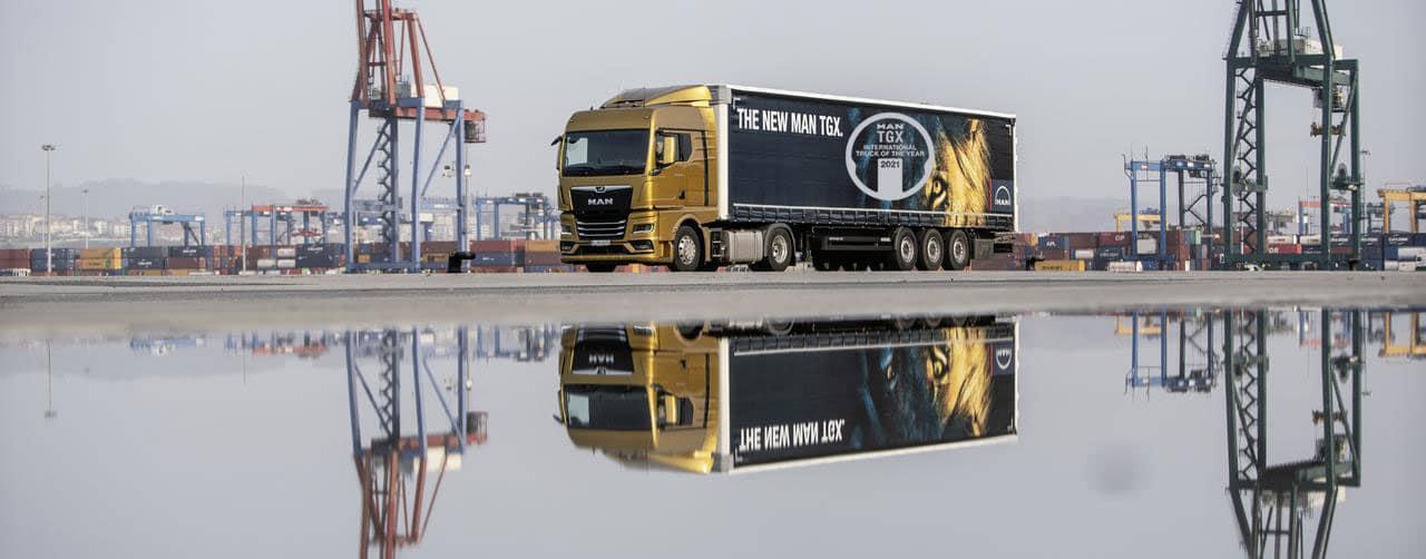 MAN TGX, Camião Internacional do Ano 2021!